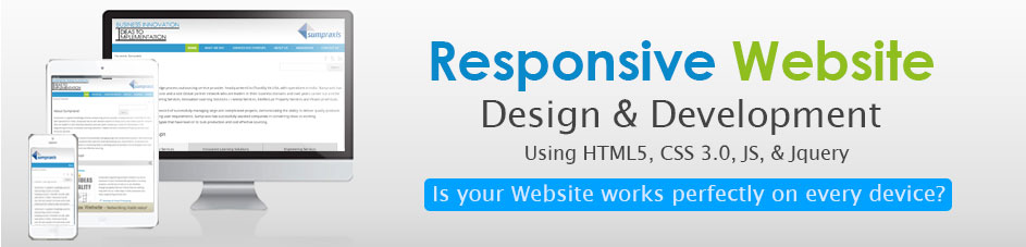 responsive website design & development India